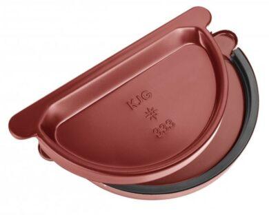 Čílko pozinkované ocelově červené 250 mm s gumou(0377)