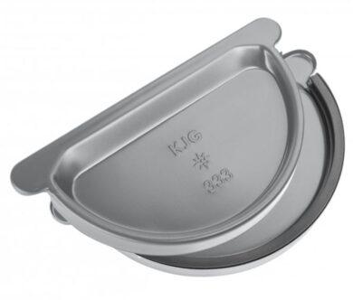 Čílko pozinkované prachově šedé 330 mm s gumou(0382)