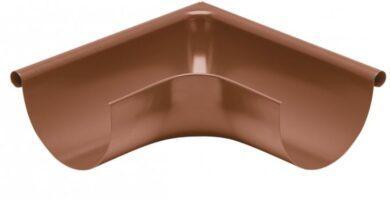 Roh pozinkovaný měděno hnědý 200 mm vnější lisovaný(0543)