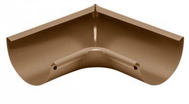 Roh pozinkovaný metalicý měděný 200 mm vnitřní lisovaný(0558)