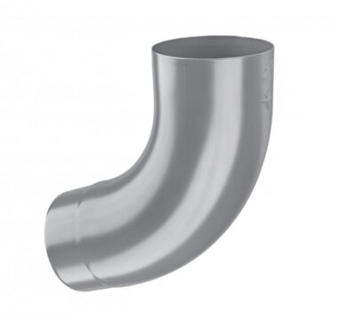 Koleno pozinkované prachově šedé 120/72st. lisované(10546)