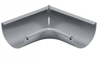 Roh pozinkovaný prachově šedý 280 mm vnitřní, lisovaný(1062)