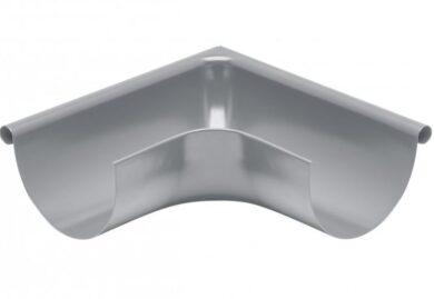 Roh pozinkovaný prachově šedý 280 mm vnější, lisovaný(10801)