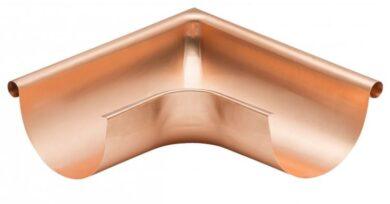 Roh měděný 330 mm vnější lisovaný(1401)