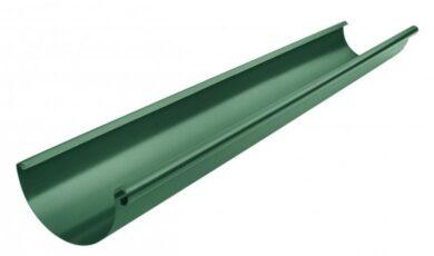 Žlab pozinkovaný mechově zelený 280 mm , délka 4 m(1783)