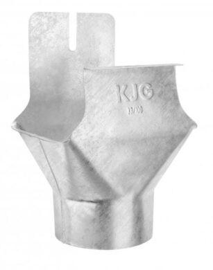 Kotlík pozinkovaný hranatý 250/ 80 mm na kulatý svod(181)