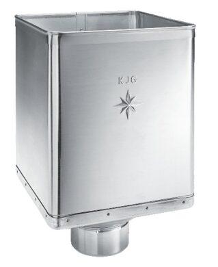Kotlík titanzinkový sběrný DESIGN excentrický 120 mm(2854)