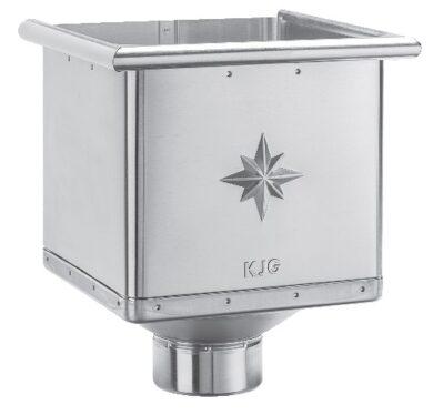 Kotlík titanzinkový sběrný kubický 100 mm(3750)