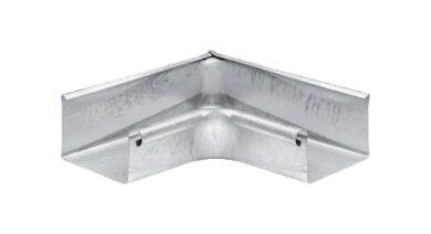 Roh titanzinkový hranatý 500 mm vnitřní(4363)