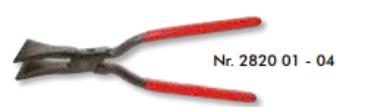 Falcovací kleště - rovné (středový spoj) 40 mm - 282004(5619)