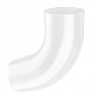 Koleno pozinkované šedo bílé  80/72st. lisované(5741)