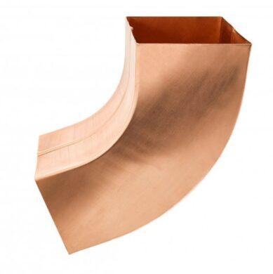 Koleno měděné hranaté  80 mm(6577)