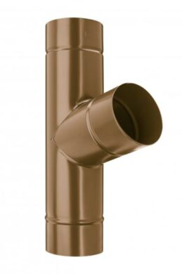 Odbočka svodu pozinkovaná metalická měděná  80/80 mm(6886)