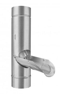 Zachytávač vody pozinkovaný 120 mm se sítkem(827)