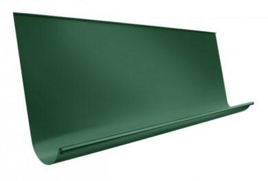 Žlab pozinkovaný mechově zelený sámový 650 mm , délka 4 m(86711)