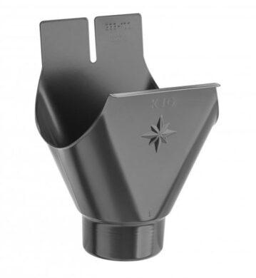 Kotlík pozinkovaný antracit 330/120 mm lisovaný(9712)