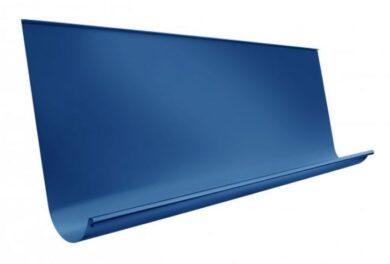 Žlab pozinkovaný modrý 650 mm sámový, délka 4 m(9792)