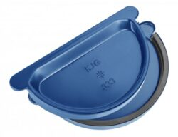 Čílko pozinkované modré 330 mm s gumou
