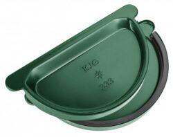 Čílko pozinkované mechově zelené 250 mm s gumou