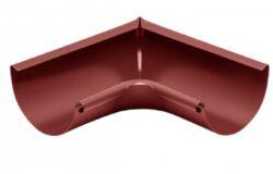 Roh pozinkovaný ocelově červený 200 mm vnitřní lisovaný