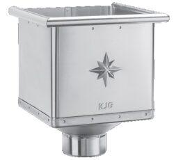 Kotlík pozinkovaný sběrný kubický 100 mm