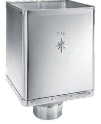 Kotlík titanzinkový sběrný DESIGN  80 mm