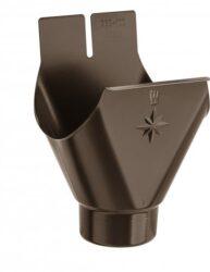 Kotlík hliníkový hnědý 400/120 mm