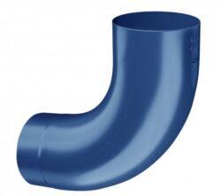 Koleno pozinkované modré 120/85 st. lisované