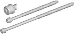 Hrot k objímce M10, torx, délka  80 mm-použití ke všem objímkám se závitem M10 v těle objímky