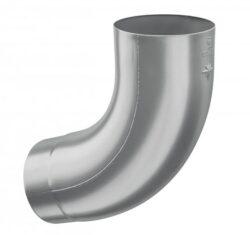 Koleno hliníkové světle šedé 100/72st.