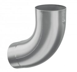 Koleno hliníkové světle šedé 150/72st.