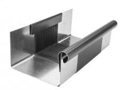 Žlab dilatační pozinkovaný antracit r.š. 250 mm, délka 260 mm