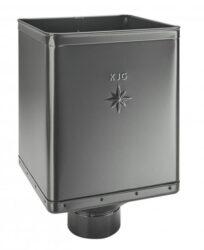 Kotlík pozinkovaný sběrný DESIGN antracit  80 mm excentrický