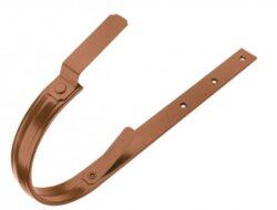 Hák hliníkový měděno hnědý 330/610 mm, pás. 28/7 mm