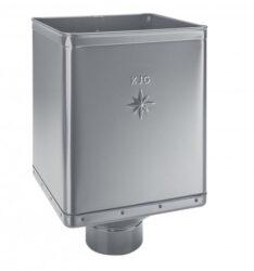 Kotlík pozinkovaný sběrný DESIGN prachově šedý  80 mm