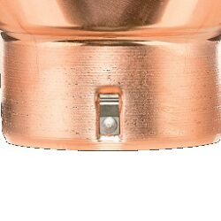 Kotlík měděný sběrný DESIGN excentrický 120 mm(2846)