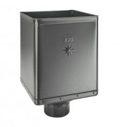 Kotlík pozinkovaný sběrný DESIGN antracit  80 mm