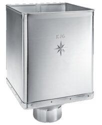 Kotlík pozinkovaný sběrný DESIGN excentrický 120 mm