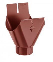 Kotlík hliníkový ocelově červený 330/120 mm