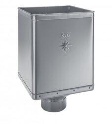Kotlík pozinkovaný sběrný DESIGN prachově šedý 100 mm excentrický