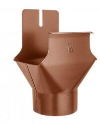 Kotlík hliníkový hranatý měděno hnědý 250/80 mm na kulatý svod