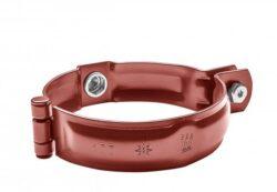 Objímka hliníková ocelově červená  60 mm bez hrotu, s metrickým závitem M10