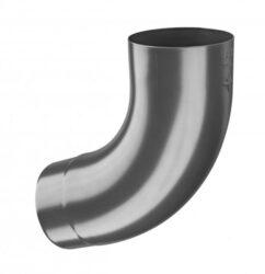 Koleno hliníkové antracit  60/72st. lisované
