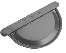 Čílko hliníkové antracit 200 mm