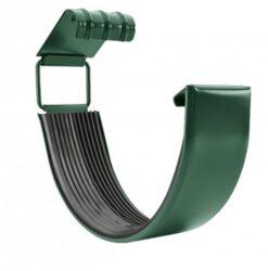 Spojka žlabu pozinkovaná mechově zelená 330 mm