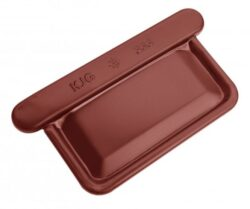 Čílko pozinkované hranaté ocelově červené 500 mm