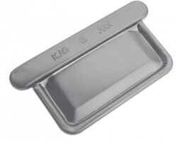 Čílko pozinkované hranaté prachově šedé 500 mm