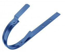 Hák pozinkovaný modrý 400/610 mm, pás. 30/6 mm