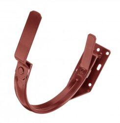 Hák pozinkovaný ocelově červený 280 mm do čela krokve
