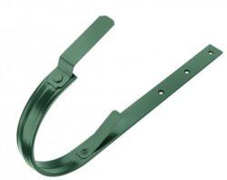 Hák hliníkový mechově zelený 250/430 mm, pás. 23/7 mm